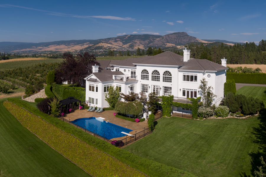 Elegant Record Breaking Interest Creates Successful Auction Of Luxury Home In  Kelowna, BC
