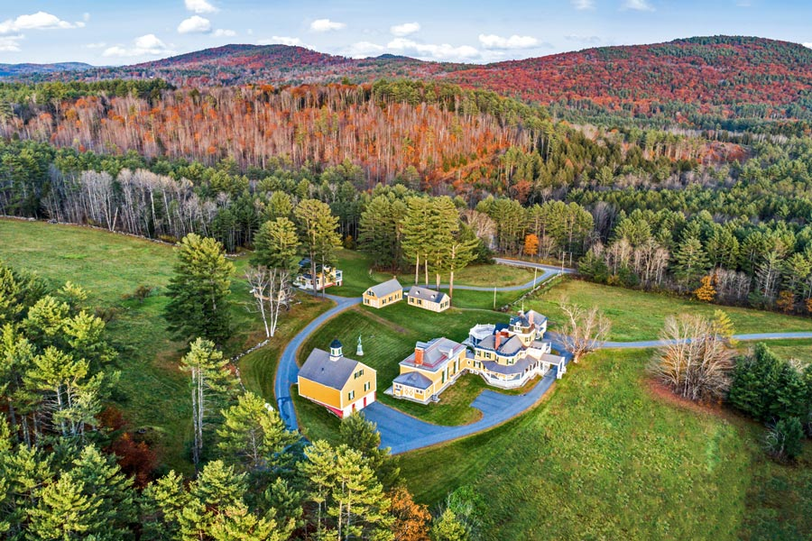 100-Acre Estate in Newport, New Hampshire, Once Owned by Gun